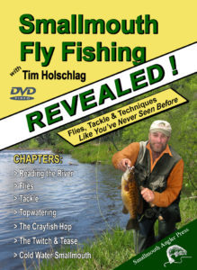 Smallmouth Fly Fishing-- REVEALED front cover of new DVD
