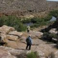Heading into the canyon on Groot River