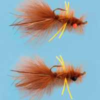 The HHF (Holschlag Hackle Fly)in 2 weights