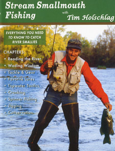 Stream Smallmouth Fishing DVD Cover