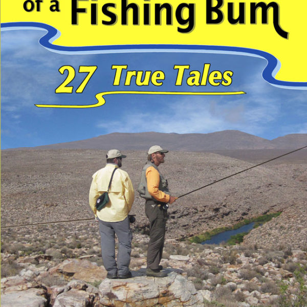 """Adventures of a Fishing Bum"" book front cover"