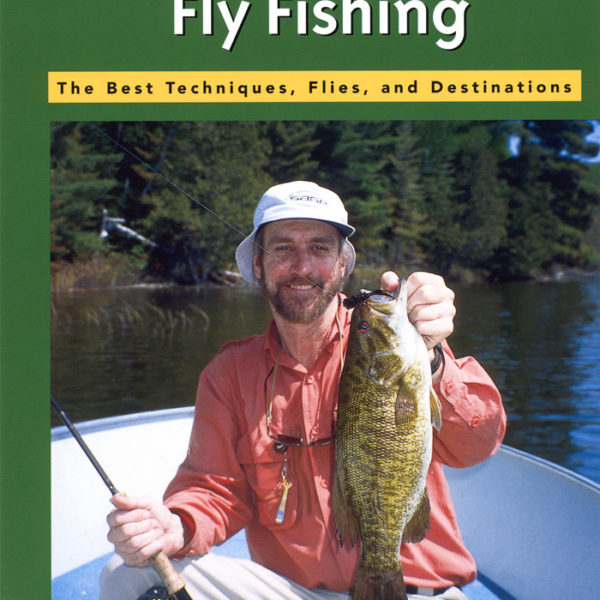 """Smallmouth Fly Fishing"" book front cover"
