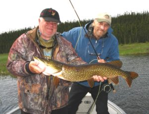 Guide with Pike