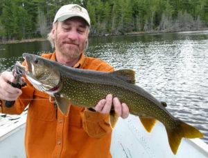 Spring trip lake trout