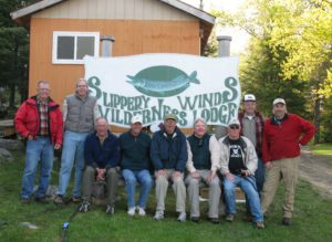 Group at slippery Winds