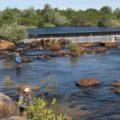 Dam fishing on the Doring River