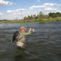 Hooked up on the Vaal River