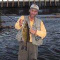 Low light dam fishing